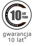 10 letnia gwarancja na wkład materaca