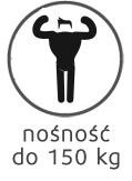 nośność materaca do 150 kg